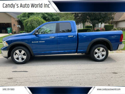 2011 RAM Ram Pickup 1500 for sale at Candy's Auto World Inc in Toledo OH