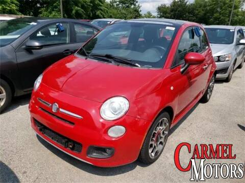 2012 FIAT 500 for sale at Carmel Motors in Indianapolis IN