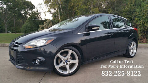 2014 Ford Focus for sale at Houston Auto Preowned in Houston TX