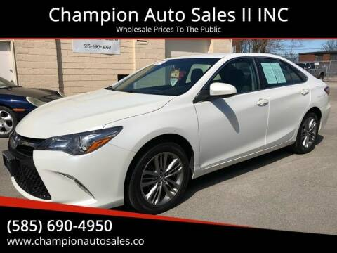 2017 Toyota Camry for sale at Champion Auto Sales II INC in Rochester NY
