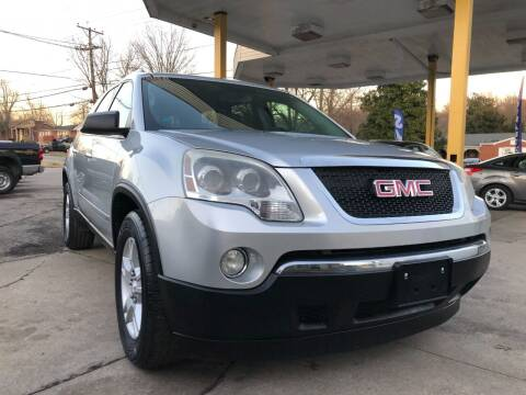 2009 GMC Acadia for sale at King Louis Auto Sales in Louisville KY