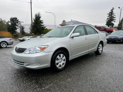 2003 Toyota Camry for sale at KARMA AUTO SALES in Federal Way WA