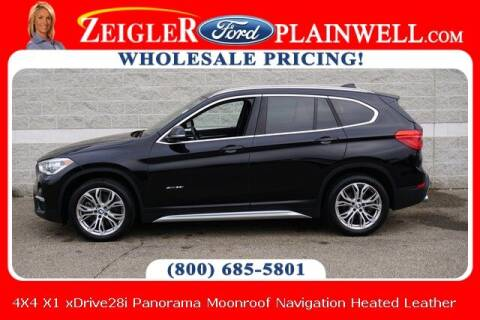 2018 BMW X1 for sale at Zeigler Ford of Plainwell- Jeff Bishop in Plainwell MI