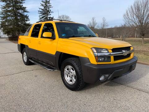 2003 Chevrolet Avalanche for sale at 100% Auto Wholesalers in Attleboro MA