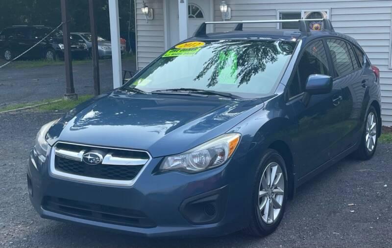 2012 Subaru Impreza for sale at Landmark Auto Sales Inc in Attleboro MA