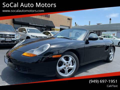 1999 Porsche Boxster for sale at SoCal Auto Motors in Costa Mesa CA