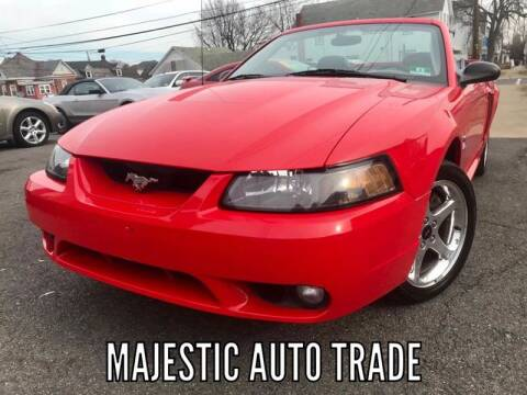 2001 Ford Mustang SVT Cobra for sale at Majestic Auto Trade in Easton PA