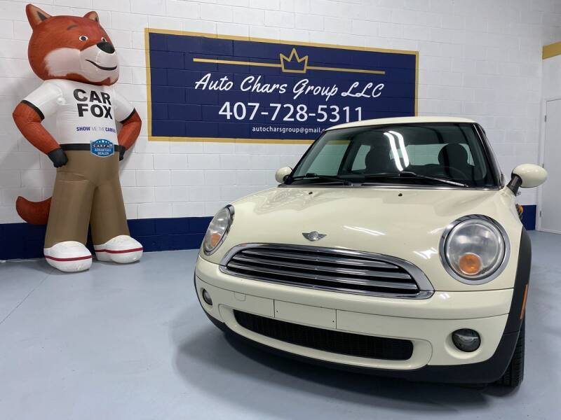 2008 MINI Cooper for sale at Auto Chars Group LLC in Orlando FL