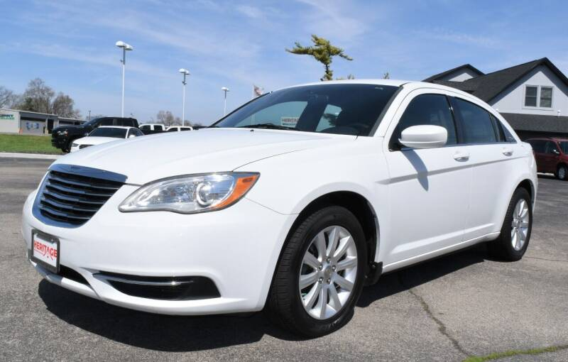 2013 Chrysler 200 for sale at Heritage Automotive Sales in Columbus in Columbus IN
