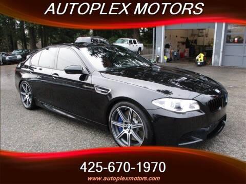 2015 BMW M5 for sale at Autoplex Motors in Lynnwood WA