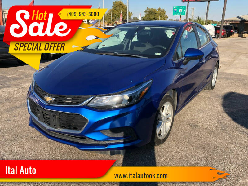 2017 Chevrolet Cruze for sale at Ital Auto in Oklahoma City OK