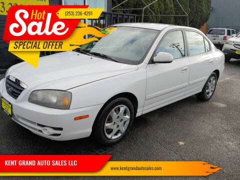 2005 Hyundai Elantra for sale at KENT GRAND AUTO SALES LLC in Kent WA