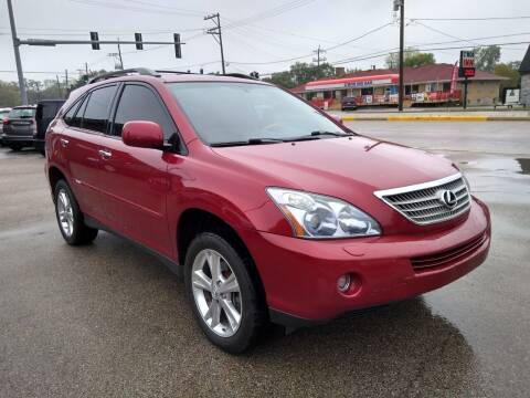 2008 Lexus RX 400h for sale at GLOBAL AUTOMOTIVE in Grayslake IL