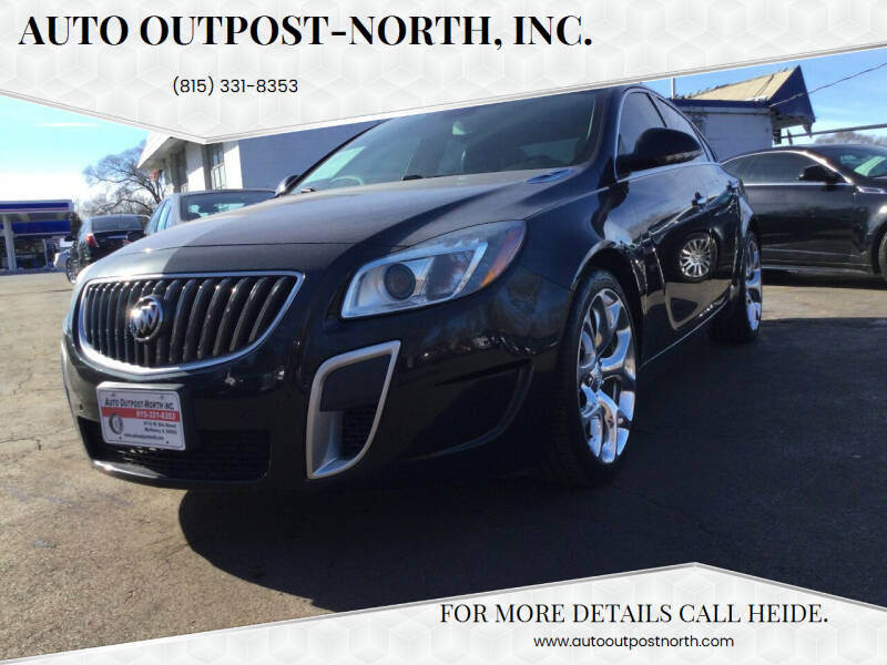 2012 Buick Regal for sale at Auto Outpost-North, Inc. in McHenry IL