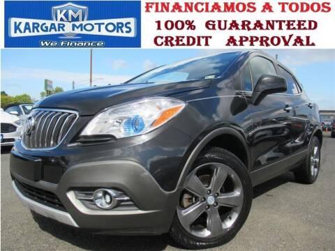 2013 Buick Encore for sale at Kargar Motors of Manassas in Manassas VA