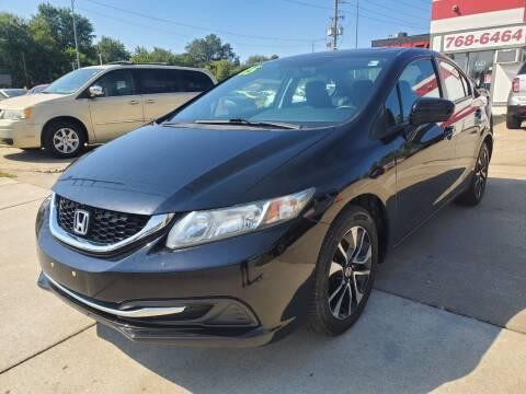 2015 Honda Civic for sale at Quallys Auto Sales in Olathe KS