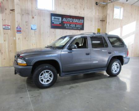 2003 Dodge Durango for sale at Boone NC Jeeps-High Country Auto Sales in Boone NC