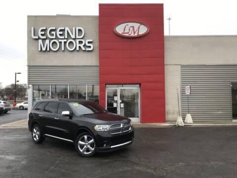 2013 Dodge Durango for sale at Legend Motors of Waterford - Legend Motors of Ferndale in Ferndale MI