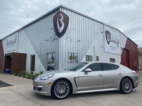 2012 Porsche Panamera for sale at Barrett Auto Gallery in San Juan TX