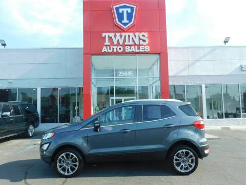 2020 Ford EcoSport for sale at Twins Auto Sales Inc Redford 1 in Redford MI