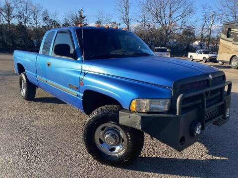 1999 Dodge Ram Pickup 2500 for sale at The Auto Depot in Raleigh NC