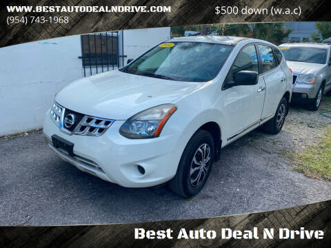 2014 Nissan Rogue Select for sale at Best Auto Deal N Drive in Hollywood FL