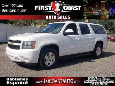 2012 Chevrolet Suburban for sale at 1st Coast Auto -Cassat Avenue in Jacksonville FL