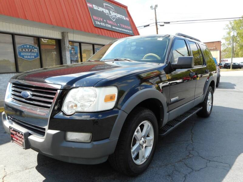 2006 Ford Explorer for sale at Super Sports & Imports in Jonesville NC