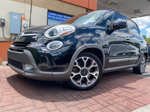 2014 FIAT 500L for sale at LATINOS MOTOR OF ORLANDO in Orlando FL