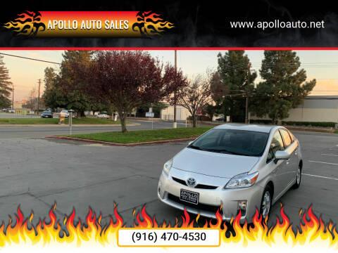 2010 Toyota Prius for sale at APOLLO AUTO SALES in Sacramento CA