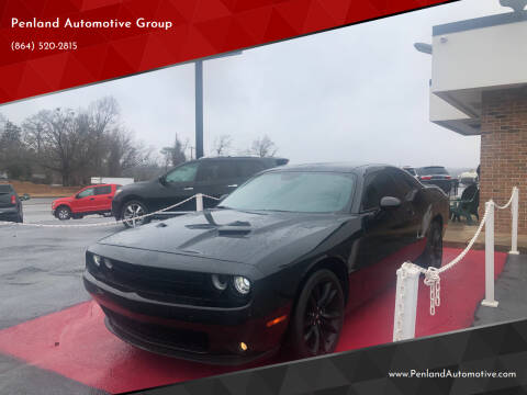 2017 Dodge Challenger for sale at Penland Automotive Group in Taylors SC