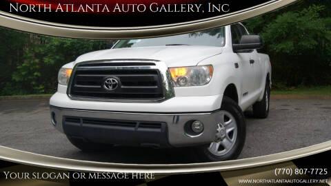 2013 Toyota Tundra for sale at North Atlanta Auto Gallery, Inc in Alpharetta GA