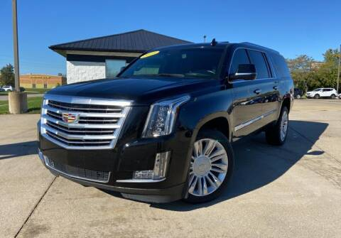 2016 Cadillac Escalade ESV for sale at Auto House of Bloomington in Bloomington IL
