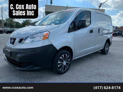 2015 Nissan NV200 for sale at C. Cox Auto Sales Inc in Joplin MO