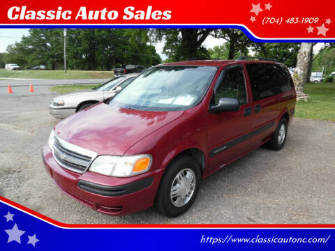 2004 Chevrolet Venture for sale at Classic Auto Sales in Maiden NC