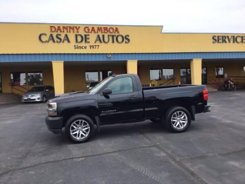 2018 Chevrolet Silverado 1500 for sale at CASA DE AUTOS, INC in Las Cruces NM