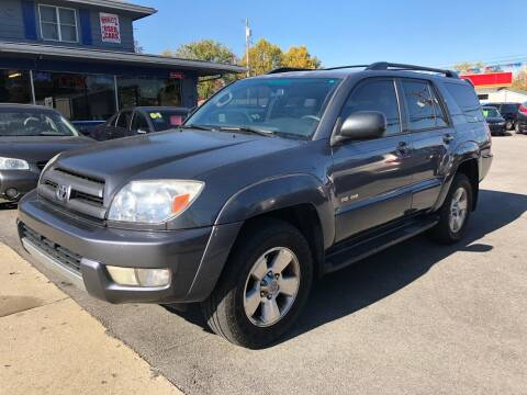 2004 Toyota 4Runner for sale at Wise Investments Auto Sales in Sellersburg IN
