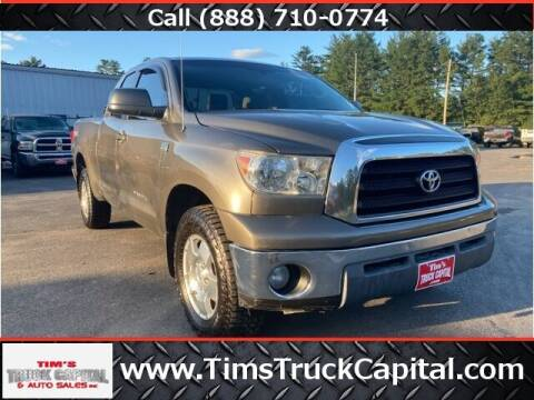 2007 Toyota Tundra for sale at TTC AUTO OUTLET/TIM'S TRUCK CAPITAL & AUTO SALES INC ANNEX in Epsom NH