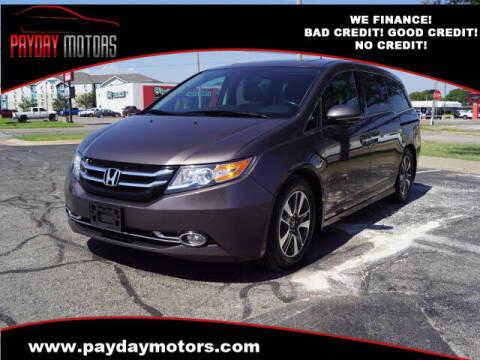 2014 Honda Odyssey for sale at Payday Motors in Wichita KS