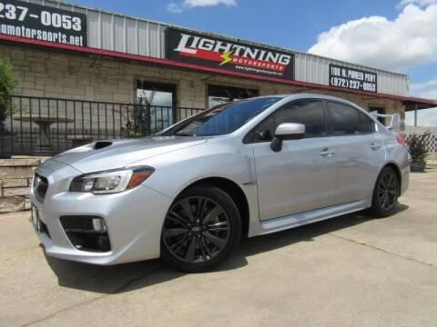 2015 Subaru WRX for sale at Lightning Motorsports in Grand Prairie TX