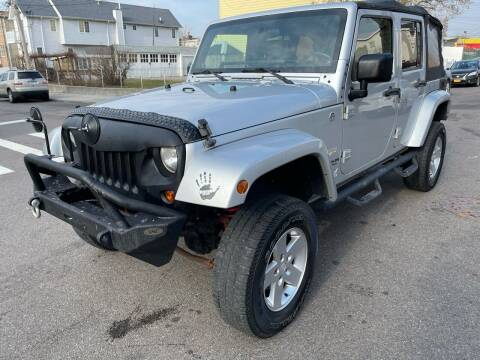2008 Jeep Wrangler Unlimited for sale at Kapos Auto, Inc. in Ridgewood, Queens NY