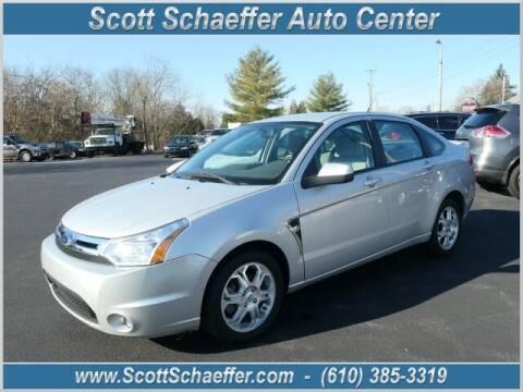 2008 Ford Focus for sale at Scott Schaeffer Auto Center in Birdsboro PA