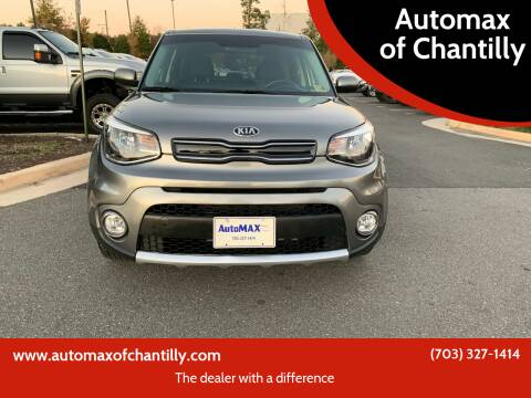 2018 Kia Soul for sale at Automax of Chantilly in Chantilly VA
