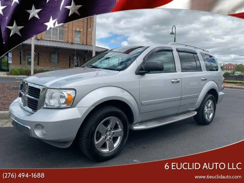 2008 Dodge Durango for sale at 6 Euclid Auto LLC in Bristol VA