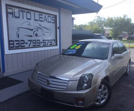 2006 Cadillac CTS for sale at AUTO LEADS in Pasadena TX