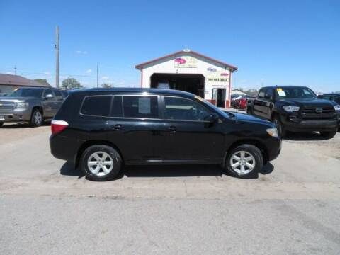 2008 Toyota Highlander for sale at Jefferson St Motors in Waterloo IA