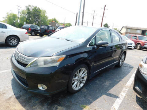 2010 Lexus HS 250h for sale at WOOD MOTOR COMPANY in Madison TN