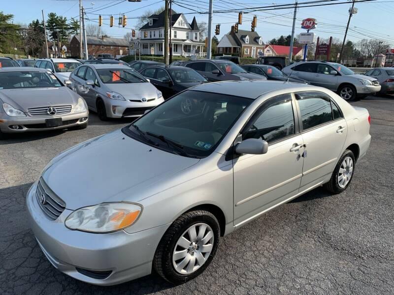 2004 Toyota Corolla for sale at Masic Motors, Inc. in Harrisburg PA