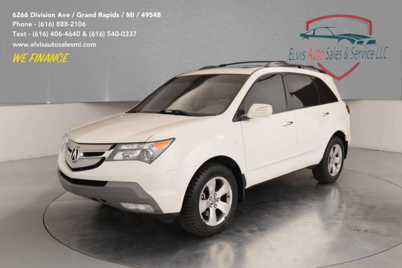 2009 Acura MDX for sale at Elvis Auto Sales LLC in Grand Rapids MI