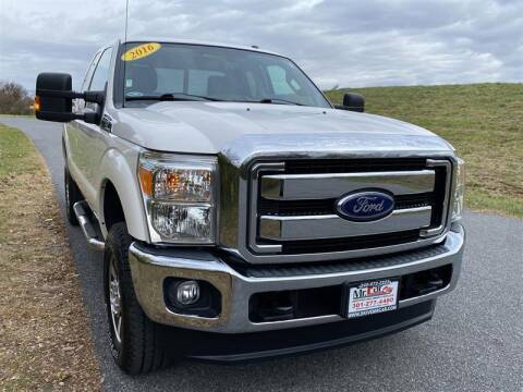 2016 Ford F-250 Super Duty for sale at Mr. Car City in Brentwood MD